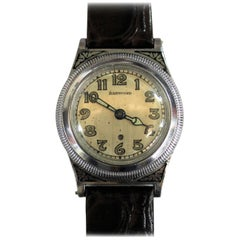 Art Deco Harwood Perpetual First Automatic Watch