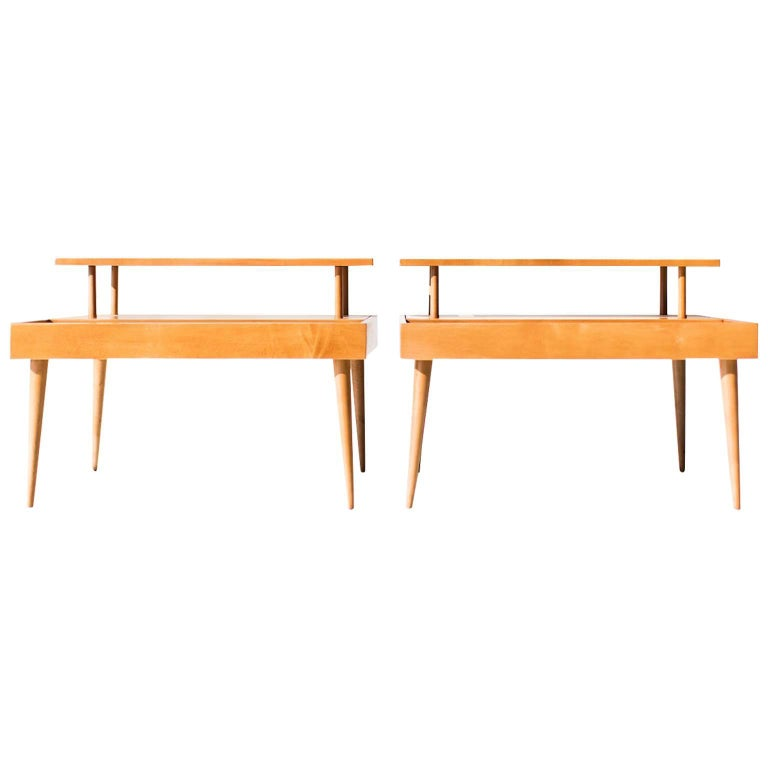 Paul McCobb Side Tables for Winchendon, Planner Group Series