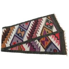 CLOSE OUT SALE: Vintage South American Woven Colorful Textile
