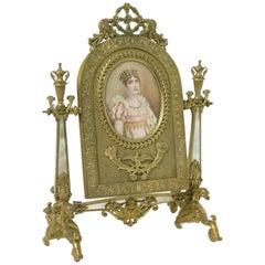 Palais Royal Gilt-Bronze Toilet Mirror