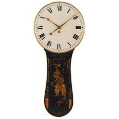 Charles Penney, Bristol, Rare Chinoiserie George III Period Tavern Timepiece