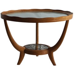 Mid-20th Century Italian Round Side Table