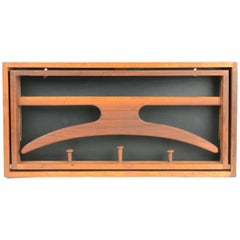 Wall Valet in Teak by Adam Hoff and Poul Ostergaard