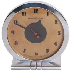 Machine Age Art Deco Gilbert Rohde for Herman Miller Iconic Desk Clock
