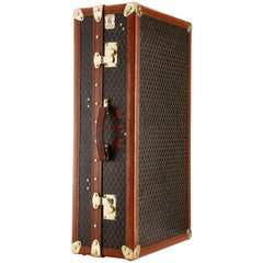 20th Century Vintage Goyard Wardrobe Trunk French circa 1930-1935