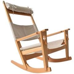 Hans Wegner Keyhole Rocking Chair for GETAMA, Denmark