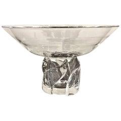 Steuben Pedestal Bowl, 20th Century