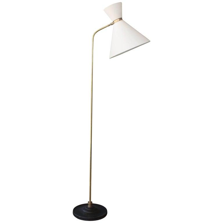Midcentury Italian Modern Floor Lamp For Sale At 1stdibs