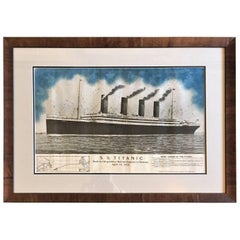 Period Printed Broadside of the Titanic Catastrophe, Published on April 15, 1912