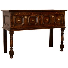 18th Century English Oak Sideboard