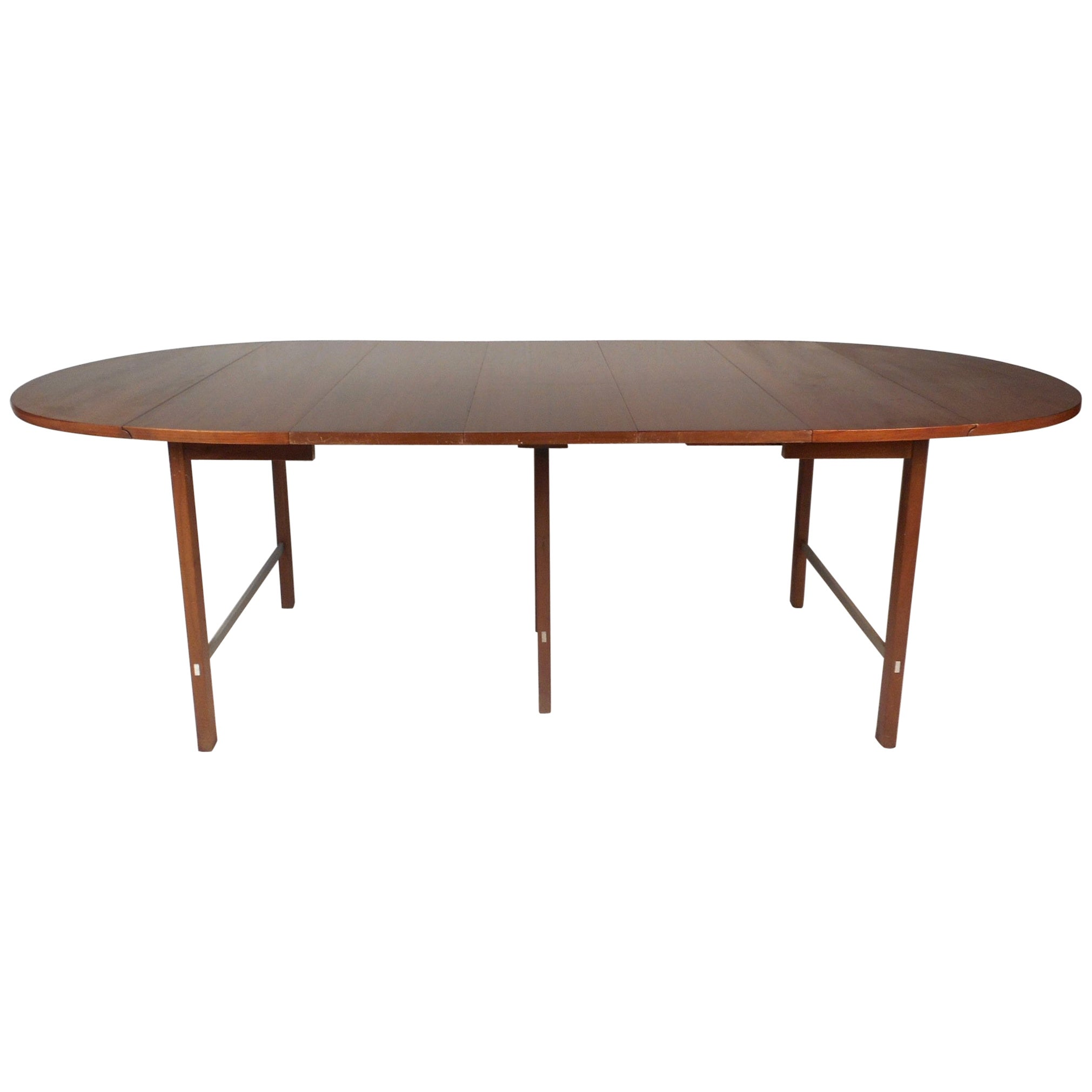 Mid-Century Modern Expandable Drop-Leaf Dining Table by Paul McCobb