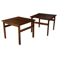 Pair of Rosewood Side Tables from Denmark, circa 1960