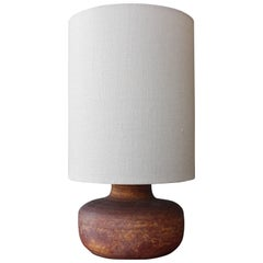 French Accolay Ceramic Table Lamp