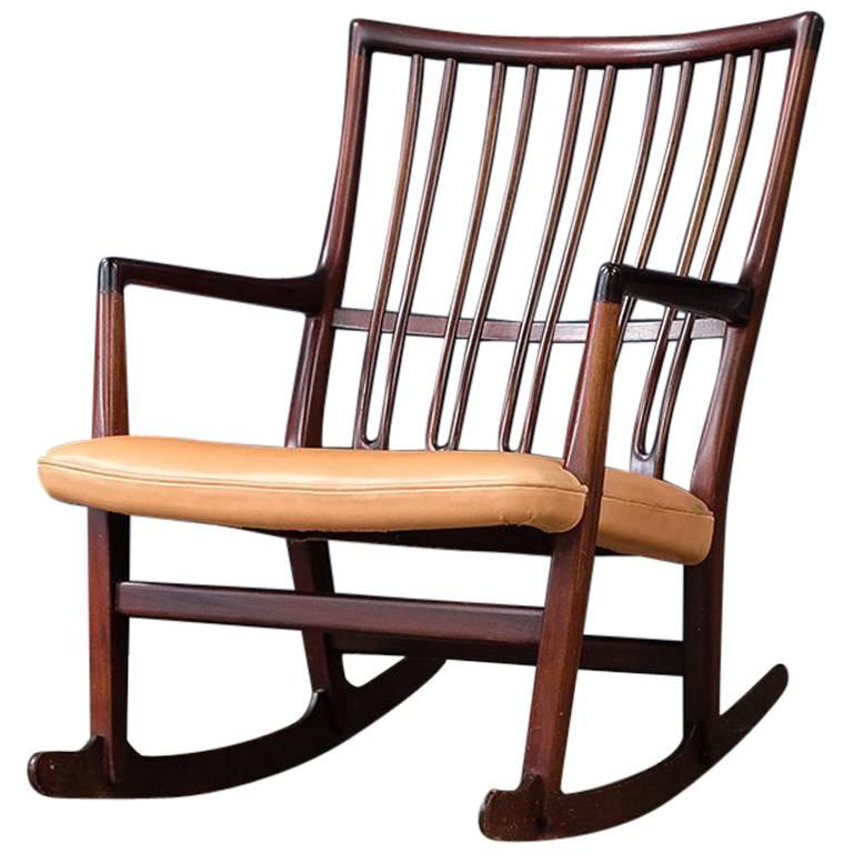 Hans Wegner Ml 33 Rocking Chair