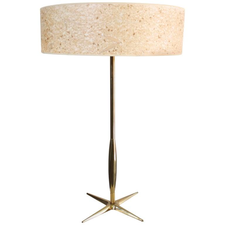 Midcentury Stiffel Brass Table Lamp