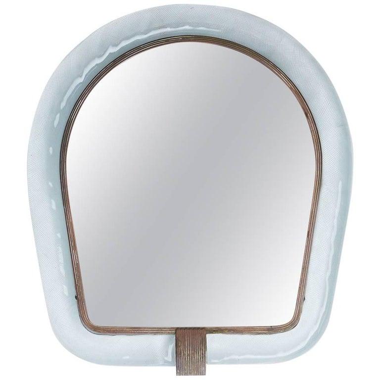 Carlo Scarpa Venini Mirror, 1930s, offered by Almond & Co.