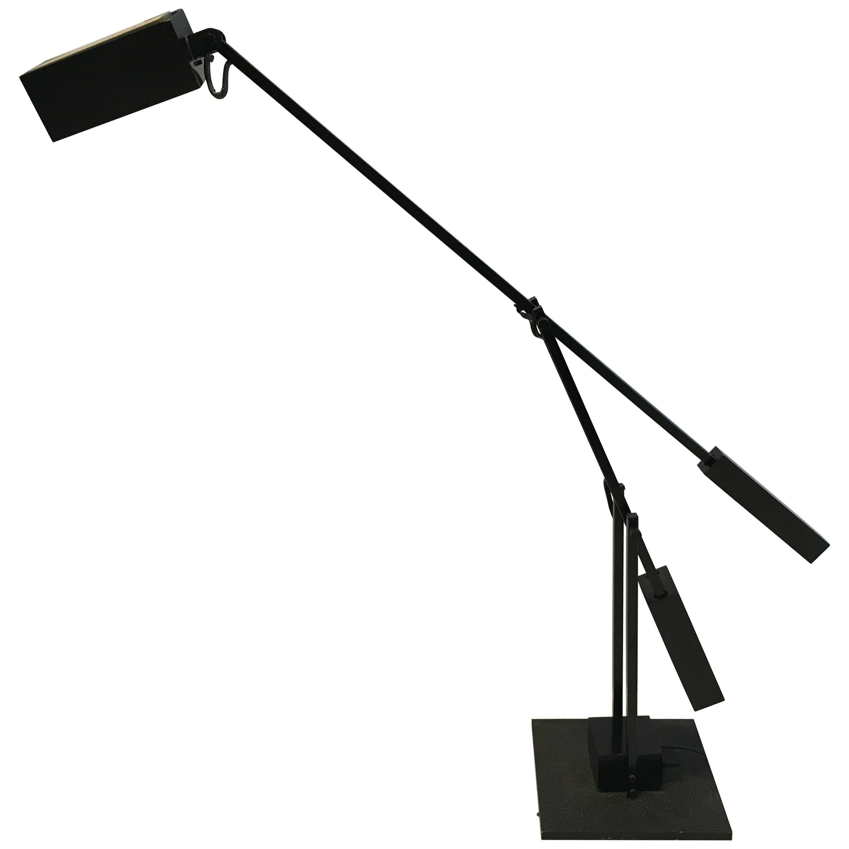 Midcentury Cantilevered Tizio Style Desk Lamp For Sale