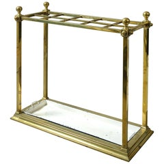19th Century Victorian Brass Stick Stand