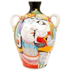 Vintage Italian Vase by DeSimone