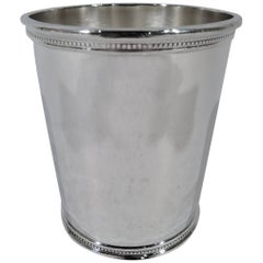 Rare JFK Era Sterling Silver Mint Julep Cup by Scearce of Kentucky