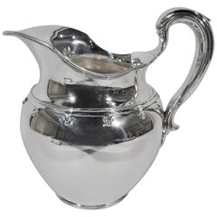 Antique Tiffany Saint Dunstan Sterling Silver Water Pitcher