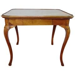 Italian Rococo Provincial Walnut Table