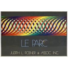 Exhibition Poster Julio Le Parc by Atelier Arcay, Paris