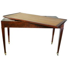 Jacob Freres Rue Meslée French Directoire Period Reversible Desk and Tric-Trac