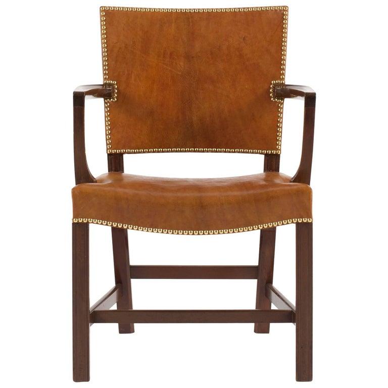 Kaare Klint Red Chair for Rud Rasmussen