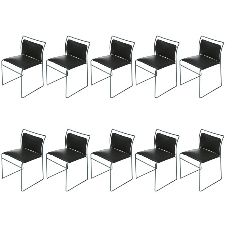 "Set of Ten ""Tulu"" Chairs by Kazuhide Takahama for Simon Gavina"