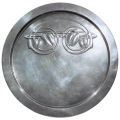 Archibald Knox 'Tudric' Pewter Card Tray for Liberty