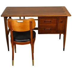 Lane Desk with Thonet Chair