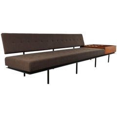 Florence Knoll Sofa with Side Table