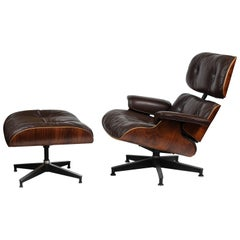 Eames Herman Miller Lounge and Ottoman