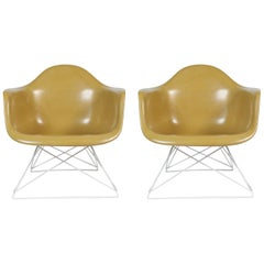 Pair of Eames Herman Miller Cat's Cradle Base Chairs