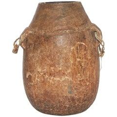 20th Century African Wooden Milk Jug