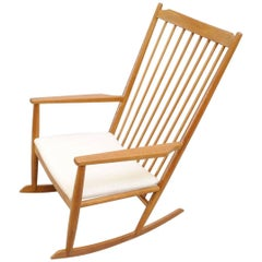 Midcentury Spindle Back Rocking Chair