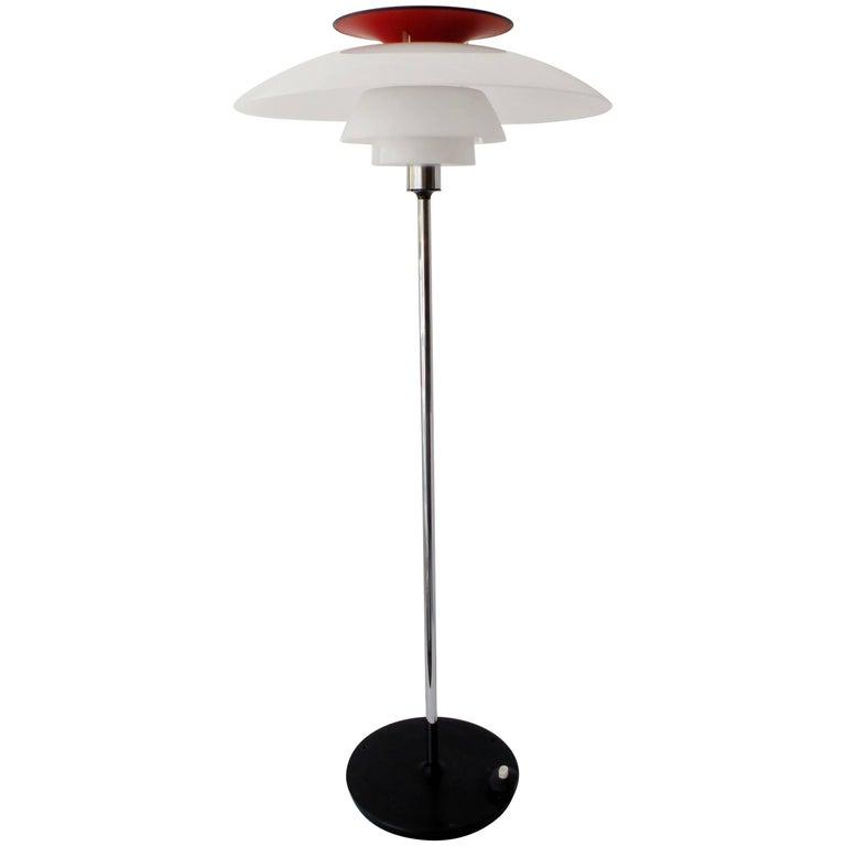Poul Henningsen PH 80 Louis Poulsen SAS Hotel Floor Lamp