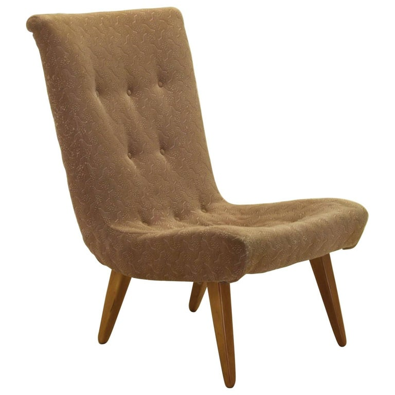 Lounge Scoop Chair after Philip Arctander