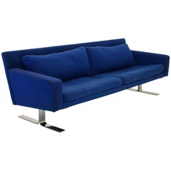 Low Profile Modernist Sofa by Erik Ole Jorgensen for DUX Furniture