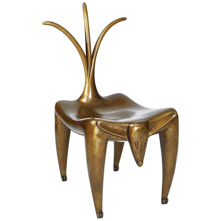 "Judy Kensley McKie ""Wagging Dog"" Chair, 2006 1"