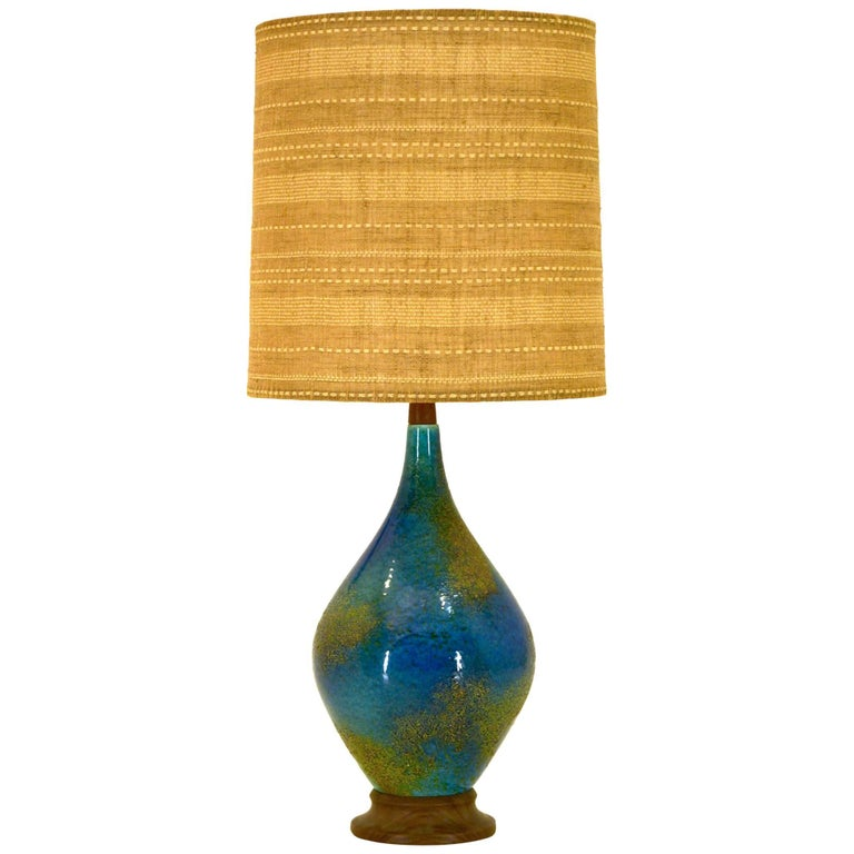 Stunning Large Table Lamp by Feldman of California