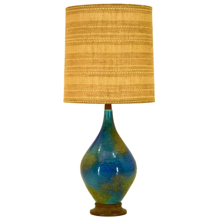 Helmut Bruchman Large Table Lamp For Sale