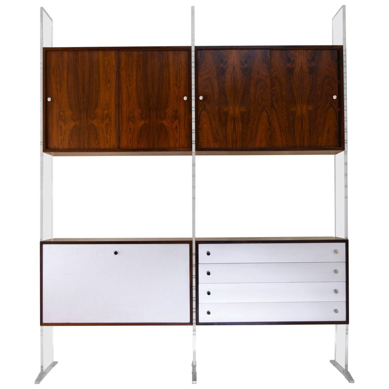 Room Divider and Storage Cabinet System by Poul Norreklit, Denmark