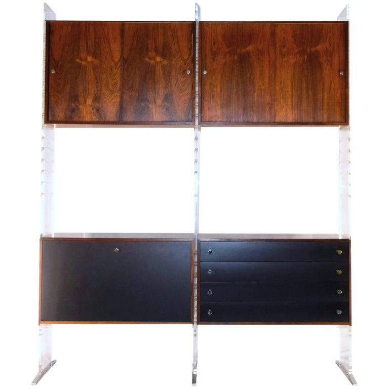 Room Divider and Storage Cabinet System by Poul Nørreklit, Denmark For Sale
