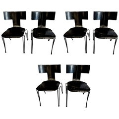 "Set of Six John Hutton for Donghia ""Anziano"" Chairs"