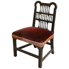 Chippendale Period Spindle Back Chair