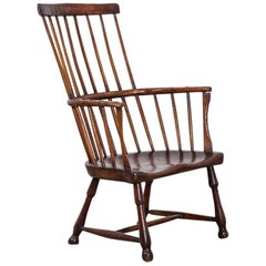18th Century Comb Back Armchair