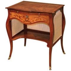 Late 18th Century 'French Hepplewhite' Figured Mahogany Ladies Writing Table