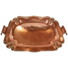 American Arts & Crafts Movement Copper Tray by Gorham Co